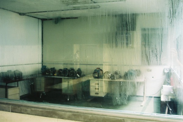 "Mindfall, 2004. Installation view, ""With all due intent – Manifesta 5"", curated by Massimiliano Gioni, Donastia-San Sebastian, Spain, 2004. Courtesy of the artist, Johann Koenig, Berlin and ZERO…, Milan."