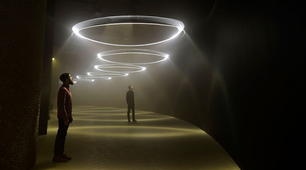 United Visual Artists: Momentum (Installation images), © Bethany Clark/Getty Images, courtesy Barbican Art Gallery. All rights reserved.