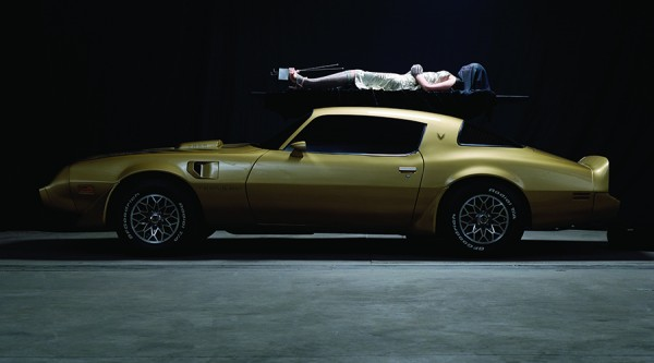 Matthew Barney and Jonathan Bepler: River of Fundament (2014): Production Still, Photo by Chris Winget © Matthew Barney. All rights reserved.