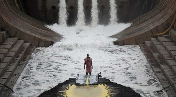 Matthew Barney and Jonathan Bepler: River of Fundament (2014): Production Still, Photo by Hugo Glendinning © Matthew Barney. All rights reserved.