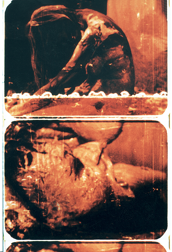 6/64 Mama und Papa / 6.64 Mom and Dad. 16mm, colour, silent, 3:57 min. Action by Otto Mühl. Image courtesy of INDEX. Used here by kind permission. All rights reserved.