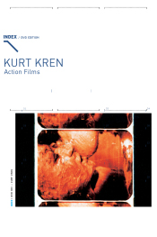 Kurt Kren – Action Films