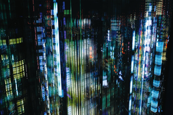 Makoto Sasaki, Tokyo Layers #2, digital c-print, 60x90cm or 100x150cm, 2011, Ed.10. Used here by kind permission from Frantic Gallery. All rights reserved.