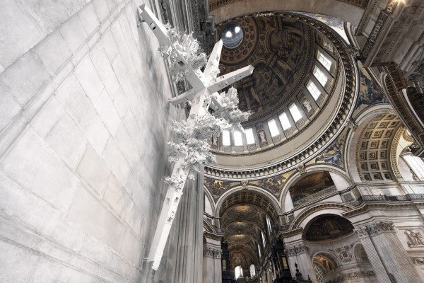 Gerry Judah, Great War Commemorative Sculptures at St. Paul's Cathdedral, 2014. Photography by David Barbour. Used here by kind permission. All rights reserved.