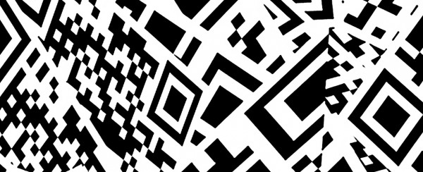 QR Swirl, 2013. Image © Claudia Hart and bitforms gallery. Used here by kind permission. All rights reserved.