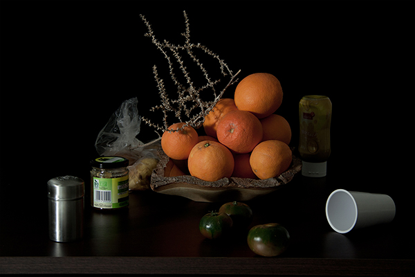 Vanessa Colareta - Oranges, Tomatoes, and Jam, 100 x 120 cm, 2013. Inkjet print. Ed.: 5 + 2 A.P. Image © Vanessa Colareta. Used here by kind permission from the artist and Nunc Contemporary. All rights reserved.