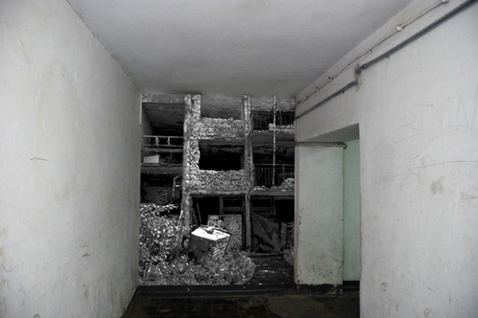 Annett Zinsmeister - City + War / Bunker Project, installation view, 2010. Image © Annett Zinsmeister. Used here by kind permission from the artist. All rights reserved.