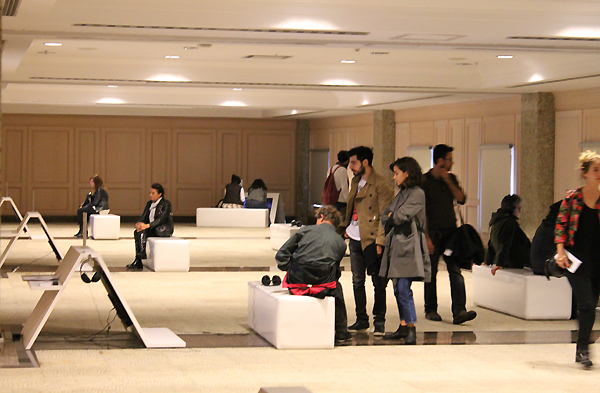 Moving Image, general exhibition view. Image courtesy of Moving Image. Used here by kind permission. All rights reserved.