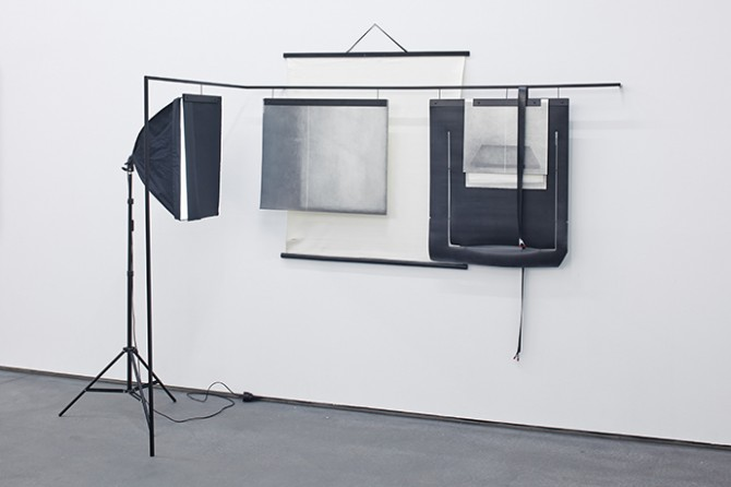 Jana Gunstheimer, Image of a non-permanent image #1, 2014. Mixed media, 200 x 208 x 108 cm. Image © Jana Gunstheimer. Used here courtesy of Gemeentemuseum, Den Haag. All rights reserved.