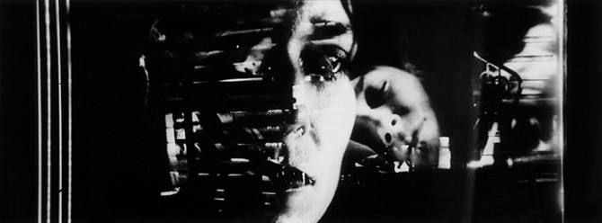 Peter Tscherkassky, still from Dream Work, 2001, 35 mm CinemaScope, b/w, 11 min. Music: Kiawasch Saheb Nassagh. Image courtesy of INDEX. Used here by kind permission. All rights reserved.