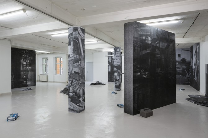 Asbjørn Skou, A Staggering Territory. Exhibition view at Overgaden – Institute of Contemporary Art, Copenhagen, Denmark. Image courtesy of the artist. Used here by kind permission from the artist. All rights reserved.