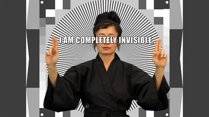 Hito Steyerl, How Not To Be Seen. A Fucking Didactic Educational.MOV File, 2013, Video still. Courtesy Hito Steyerl
