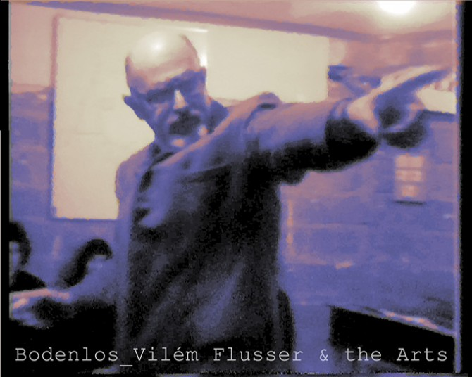 Bodenlos: Vilém Flusser & the Arts. Image © ZKM | Center for Art and Media, 2015. Used here by kind permission from ZKM | Center for Art and Media. All rights reserved.