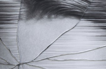 Taisuke Mohri The Cracked Portrait #5 (detail)