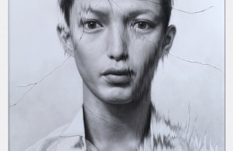 Taisuke Mohri The Cracked Portrait #2