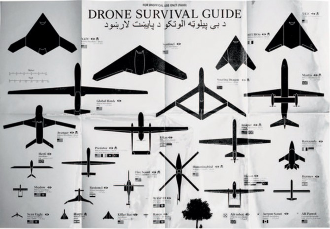 Excellence Award: Ruben PATER, Drone Survival Guide © Ruben Pater / Graphic art, Website (the Netherlands)