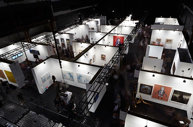 Sydney Contemporary art fair view. Used here by kind permission from Sydney Contemporary. All rights reserved.