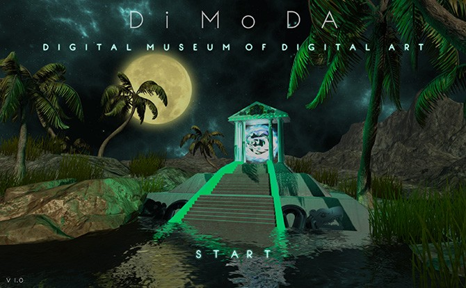 DiMoDA: The Digital Museum of Digital Art