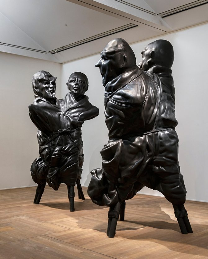 Thomas Schütte, United Enemies, 2011. Installation view of