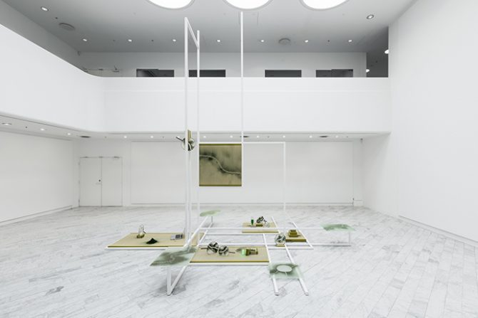 Astrid Myntekær, Mana Stash, installation view at Tranen Contemporary Art Center (Hellerup, Denmark), October 15 - December 4, 2016. Courtesy Astrid Myntekær & Tranen. Photo: David Stjernholm. Used here by kind permission from Tranen. All rights reserved.