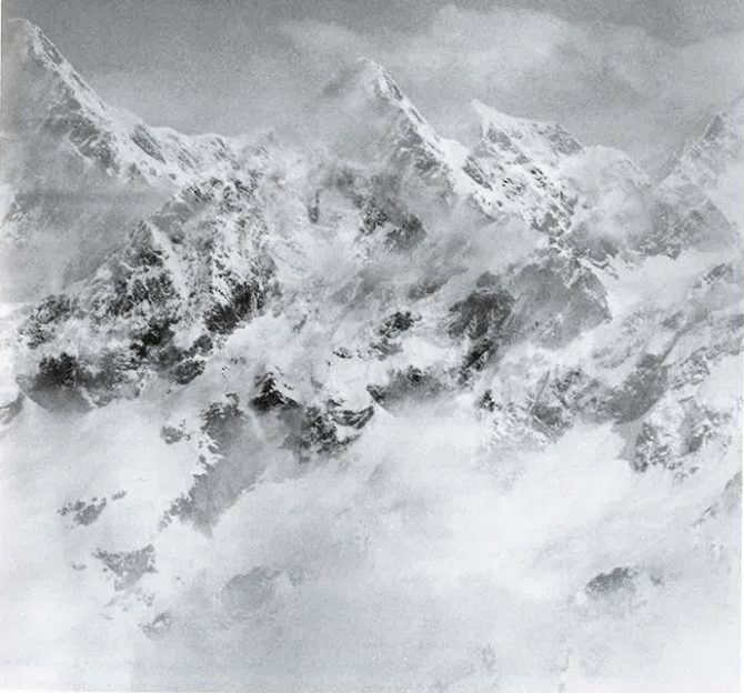 Balthasar Burkhard, White Mountain, 1993 © Balthasar Burkhard Estate. Reproduction: © Valais Museum of Art, Sion. Michel Martinez. Used here by kind permission. All rights reserved.