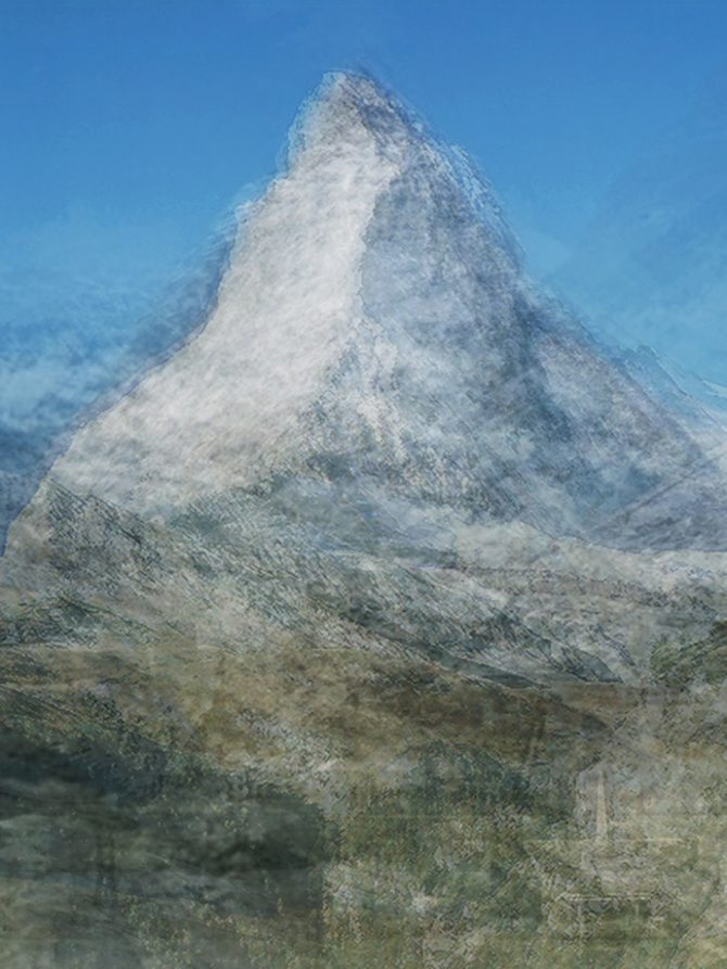 Corinne Vionnet, Matterhorn, from the series Photo Opportunities, 2006 © Corinne Vionnet, Collection of the Musée de l'Elysée, Lausanne. Used here by kind permission. All rights reserved.