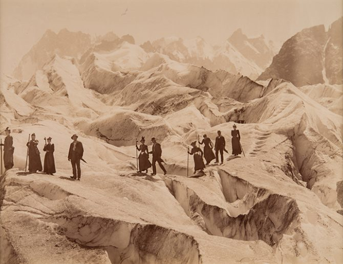 John Jullien, Crossing the Sea of Ice, circa 1880 © Musée de l'Elysée, Lausanne. Used here by kind permission. All rights reserved.